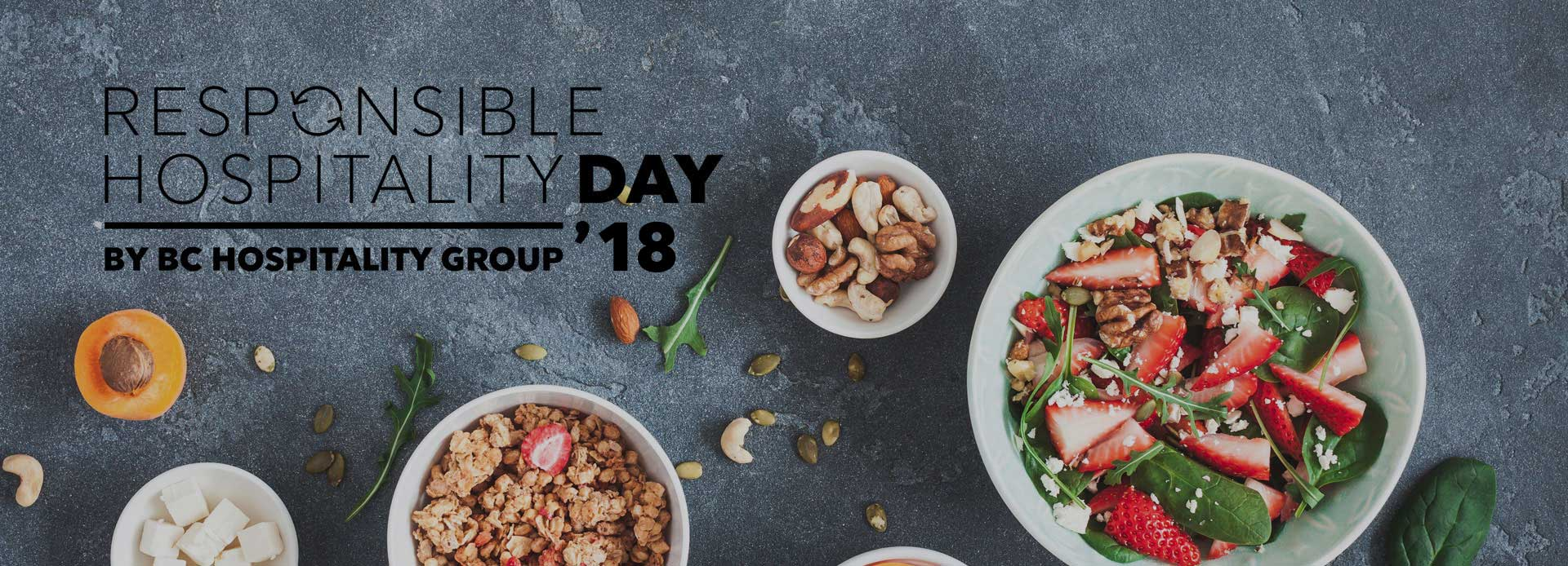 Responsible Hospitality Day 2018